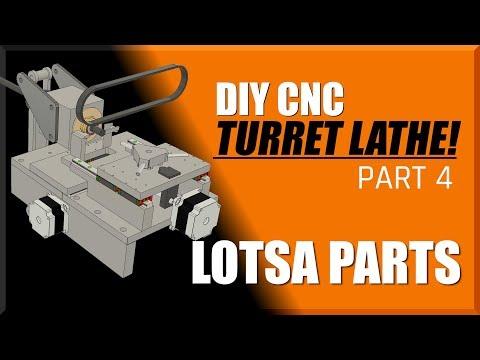 DIY CNC Turret Lathe Part 4 | WW211 | FutureLab3D