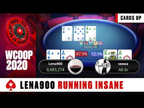 ANOTHER ONE! - 3rd Title for Lena900 ♠️ WCOOP 2020 44-H: $2K NLHE Highlights ♠️ PokerStars Global