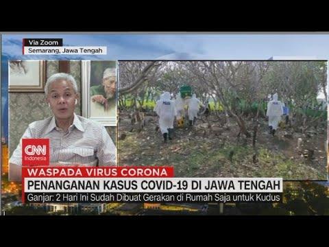 Penanganan Kasus Covid-19 Jawa Tengah