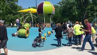 Fort Worth's new Dream Park is accessible for all children regardless of ablities