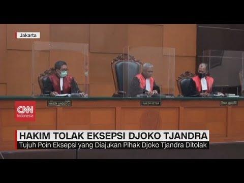 Hakim Tolak Eksepsi Djoko Tjandra