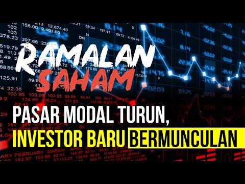 RAMALAN SAHAM - Pasar Modal Turun, Investor Baru Bermunculan. Kok Bisa?