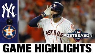Carlos Correa's walk-off home run powers Astros to ALCS Game 2 win   Astros-Yankees MLB Highlights