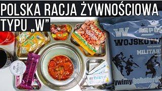 POLSKA RACJA ŻYWNOŚCIOWA TYPU ″W″   Test, recenzja, unboxing #64
