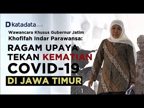 Wawancara Khusus Khofifah, Ragam Upaya Tekan Kematian Covid-19 di Jawa Timur | Katadata Indonesia