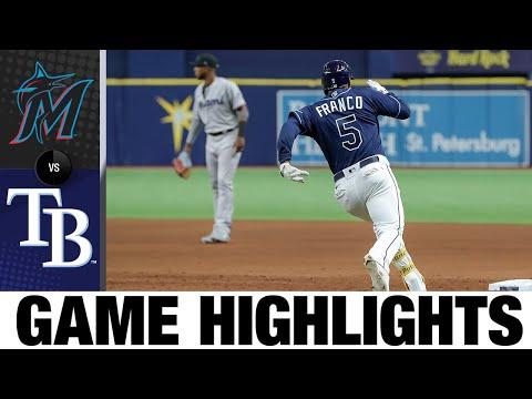 Marlins vs. Rays Game Highlights (9/25/21)   MLB Highlights