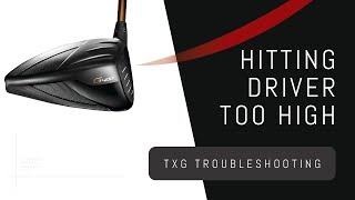 Hitting Driver Too High | Losing Distance