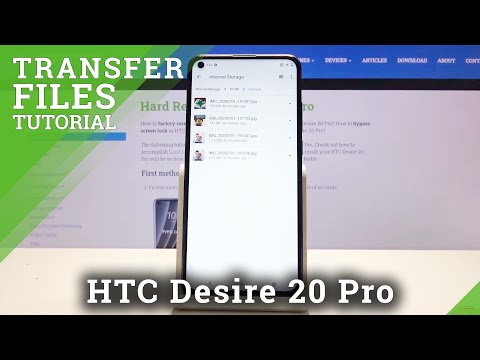 How to Transfer Files in HTC Desire 20 Pro – Move Data to SD Card