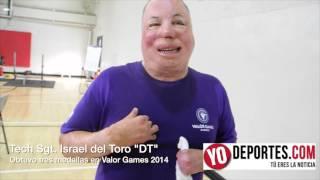 Israel del Toro obtiene 3 medallas en los juegos Valor Games