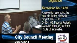 7/7/14 City of Portland Council Meeting