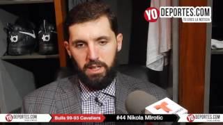 Nikola Mirotic y los Bulls arrollan 99-93 a Cleveland Cavaliers