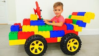 Vlad and Nikita pretend play with Toy Cars - Collection for kids
