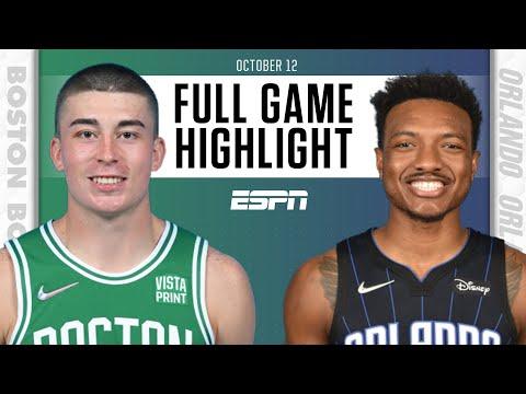 Boston Celtics at Orlando Magic | Full Game Highlights