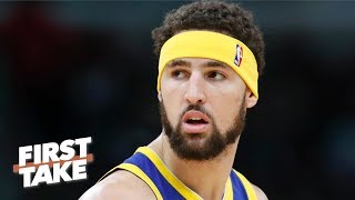 Klay Thompson's apology to Warriors' fans 'ticked me off' - Stephen A. | First Take