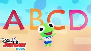The Alphabet Song 🔤 | 🎼 Disney Junior Music Nursery Rhymes | Disney Junior