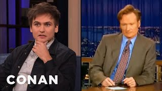 "Moses Storm Taped Over Christian Homeschool To Record ""Late Night"" - CONAN on TBS"