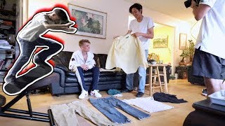 Turning a Hypebeast into a Skater! ($5 Outfit)