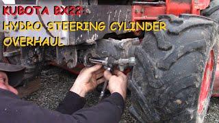 Kubota BX22: Hydo. Steering Cylinder - Reseal