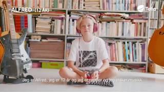 Kidsa kan – Alfred (12): – Kult å lage noe selv som høres proft ut!