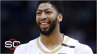 The Lakers gave up a lot for AD but they're getting a lot back - Dave McMenamin | SportsCenter