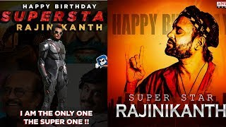 Happy Birthday To RAJANIKANTH I He Turns 68 Today