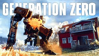 When The Giant Machines Fight Back in Generation Zero