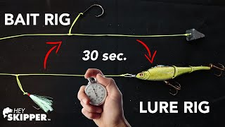 STOP Re-tying Fishing Rigs - Quick and Easy Surf Fishing HACK!