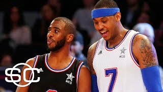 Stephen A. Smith Says Carmelo Might Join CP3 And Harden In Houston | SportsCenter | ESPN