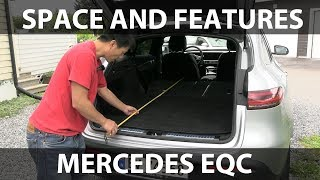 Mercedes EQC space and features