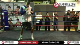 Michael Conlan Chicago Open Workout Oakley Fight Club Gym