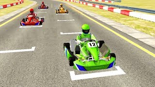 Car Racing Games - Go Kart Racing 3D - Gameplay Android FHD - Go Kart Cars Racing Games For Kids