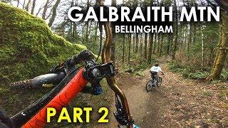 SO MANY JUMPS! Evolutiuon, Unemployment Line | Galbraith Mtn Bellingham - Part 2