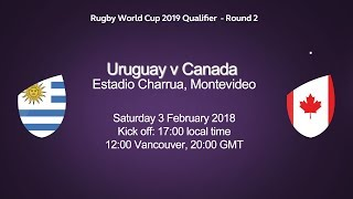 Rugby World Cup Qualifier - Uruguay v Canada