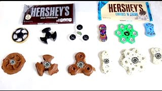 6 DIY Chocolate Fidget Spinners ~ How to Make an Edible EDC Hand Spinner Tutorial