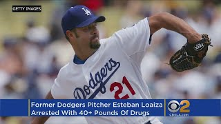 Ex-Dodgers Pitcher, Husband Of Late Singer Jenni Rivera Allegedly Caught With 44 Pounds Of Illegal D