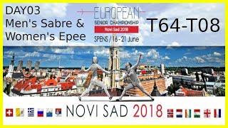 European Championships 2018 Novi Sad Day03 - Piste Yellow