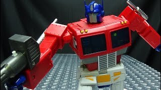Transform Element OP LEADER (Optimus Prime): EmGo's Transformers Reviews N' Stuff