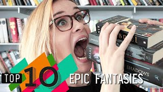 Top 10 Epic Fantasies | Throne of Glass, Shadow and Bone & More! | Epic Reads