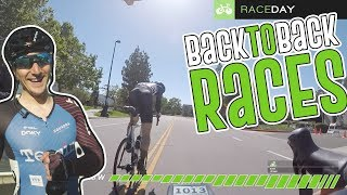 I Signed Up for Back 2 Back Races (Raceday Cycling Vlog)