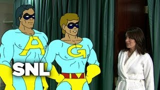 The Ambiguously Gay Duo: Ace and Gary's Quick Change - Saturday Night Live