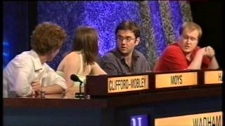 Wadham College, Oxford vs. Royal Holloway, London - University Challenge 2006