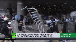 Hong Kong suspends China extradition bill following mass protests