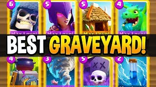 BEST GRAVEYARD DECK for Clash Royale Season 4!!