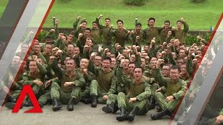 Singapore army combat soldiers get new hybrid uniform