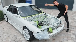 Skyline is Off to Paint! + Rad New Parts
