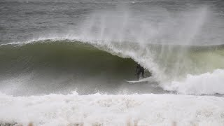 BEST & Biggest SWELL of the YEAR in New Jersey