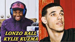 Kevin Durant Reacts to Lonzo Ball - Kylie Kuzma (Kyle Kuzma Diss Track) | Jamal Haki