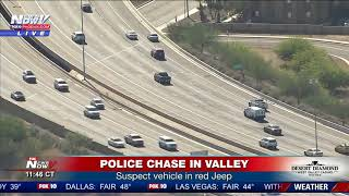 HORRIBLE END: Police Chase Ends with Violent Crash in Tempe, Arizona (FNN)