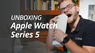 APPLE WATCH SERIES 5 [UNBOXING/HANDS-ON]