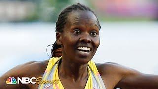 Nelly Jepkosgei Wins Diamond League Rabat 800m   NBC Sports